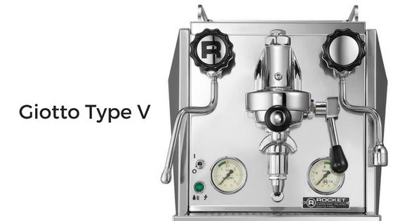 rocket espresso giotto type v espresso machine review
